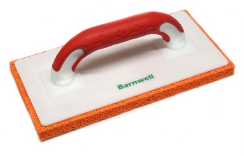 "Barnwell Sponge Float 11"" Orange - Course with Red Soft Grip handle"